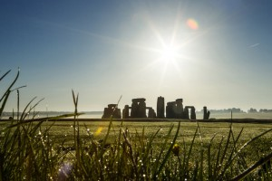 Stonehenge is a UNESCO world heritage site, and a prehistoric ring of huge standing stones within an earthworks, on the plains in Wiltshire. This image must be reproduced with the credit 'VistBritain/Andrew Pickett'